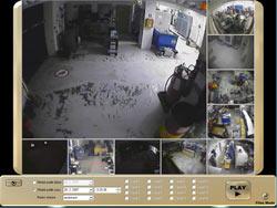 Kamerové systémy Brno- ukázka systému 1