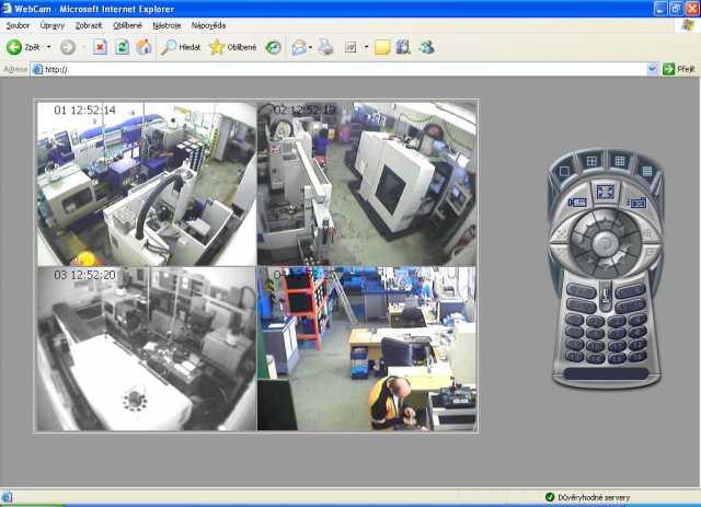 Kamerové systémy Brno- ukázka systému 4
