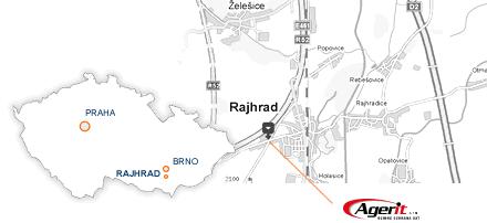 Kamerové systémy Brno - mapa